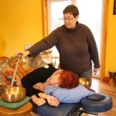 Singing Bowl Massage with Missy at the helm!