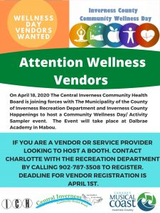 Wellness Expo for Inverness County @ Dalbrae Academy